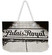Palais Royal Weekender Tote Bag