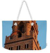 Palazzo Vecchio In Florence  Weekender Tote Bag