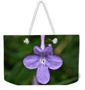 Pale Purple Weekender Tote Bag