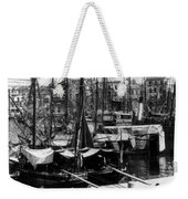 Palermo Sicily - Shipping Scene At The Harbor Weekender Tote Bag