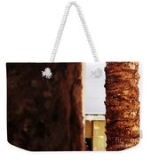 Palm And Wall Weekender Tote Bag