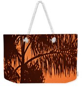 Palm Frond Abstract Weekender Tote Bag