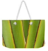 Palm Frond Detail Weekender Tote Bag