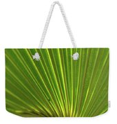 Palm Leaf Weekender Tote Bag