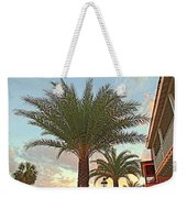 Palm On The Avenida Weekender Tote Bag