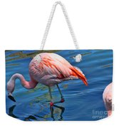 Palm Springs Flamingo Weekender Tote Bag