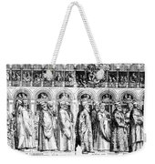 Palm Sunday Procession Weekender Tote Bag