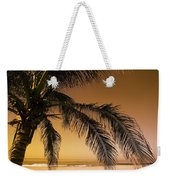 Palm Tree And Sunset In Mexico Weekender Tote Bag