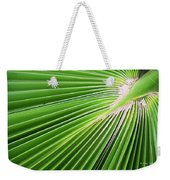 Palm Tree Frond Weekender Tote Bag