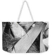 Palm Tree Macro Weekender Tote Bag by Adam Romanowicz