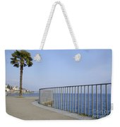 Palm Tree On The Lakefront Weekender Tote Bag