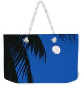 Palm Tree Silhouetted Against The Sky Weekender Tote Bag