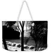 Palm Tree Silouette Weekender Tote Bag