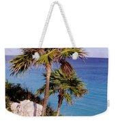 Palm Trees At Tulum Weekender Tote Bag