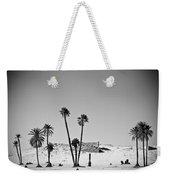 Palm Trees In The Sahara Desert Weekender Tote Bag