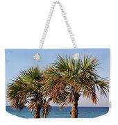Palm Trees Weekender Tote Bag by Sandy Keeton