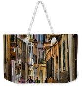 Palma Mallorca Street Scene Weekender Tote Bag