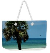 Palmetto And The Beach Weekender Tote Bag