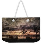 Palms And Docks Weekender Tote Bag