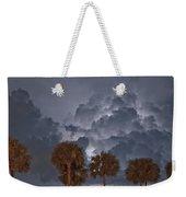 Palms And Lightning 7 Weekender Tote Bag