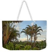 Palms In Costa Rica Weekender Tote Bag