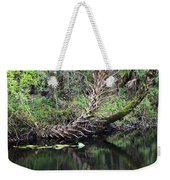 Palms On The River Weekender Tote Bag