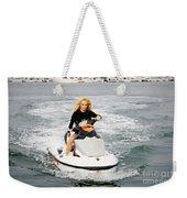 Pamela Anderson Is A Jet Ski Vixen Weekender Tote Bag