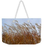 Pampas Grass In The Wind 1 Weekender Tote Bag