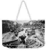 Panama Canal - Construction At The Culebra Cut - C 1910 Weekender Tote Bag