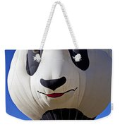 Panda Bear Hot Air Balloon Weekender Tote Bag
