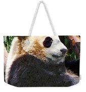 Panda In Tree Weekender Tote Bag