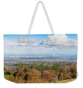 Panorama Of Dublin City And The Dublin Bay Weekender Tote Bag