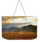 Panoramic Image Of Late Afternoon Weekender Tote Bag