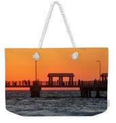 Panoramic Pier Weekender Tote Bag
