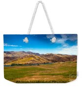 Panoramic Range Land Weekender Tote Bag