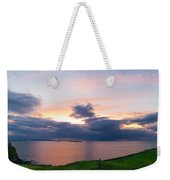 Panoramic View From Dunluce Castle Weekender Tote Bag