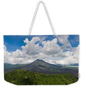 Panoramic View Of A Volcano Mountain  Weekender Tote Bag