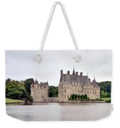 Panoramic View Of Chateau De La Bretesche Weekender Tote Bag