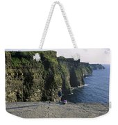Panoramic View Of Cliffs, Cliffs Of Weekender Tote Bag