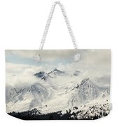 Panoramic View Of Snow-covered St Weekender Tote Bag