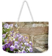 Pansies And Pussywillows Weekender Tote Bag