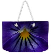 Pansy Abstract Weekender Tote Bag