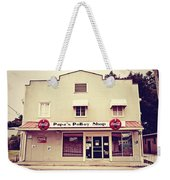 Papa's Poboy's Weekender Tote Bag by Scott Pellegrin