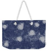 Paper Flowers Abstract - White Weekender Tote Bag