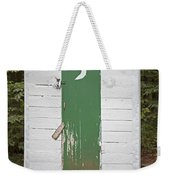Paper Moon Outhouse Weekender Tote Bag
