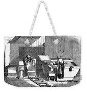 Papermaking, 1833 Weekender Tote Bag