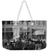 Parade Crowd Reflected Weekender Tote Bag
