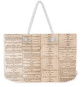 Parade For The Us Constitution Weekender Tote Bag by Photo Researchers