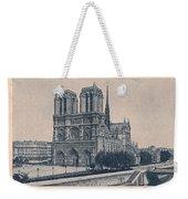 Paris - Notre Dame Weekender Tote Bag