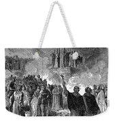 Paris: Burning Of Heretics Weekender Tote Bag by Granger